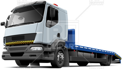 400x229 Flatbed Recovery Vehicle Based On Light Truck