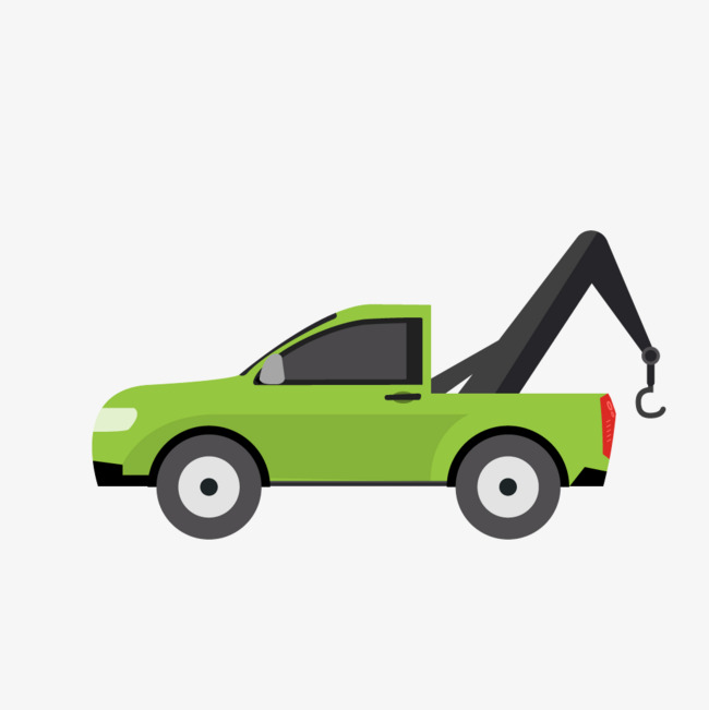 650x651 Green Car Wrecker, Green, Compact Car, Vector Png And Vector For