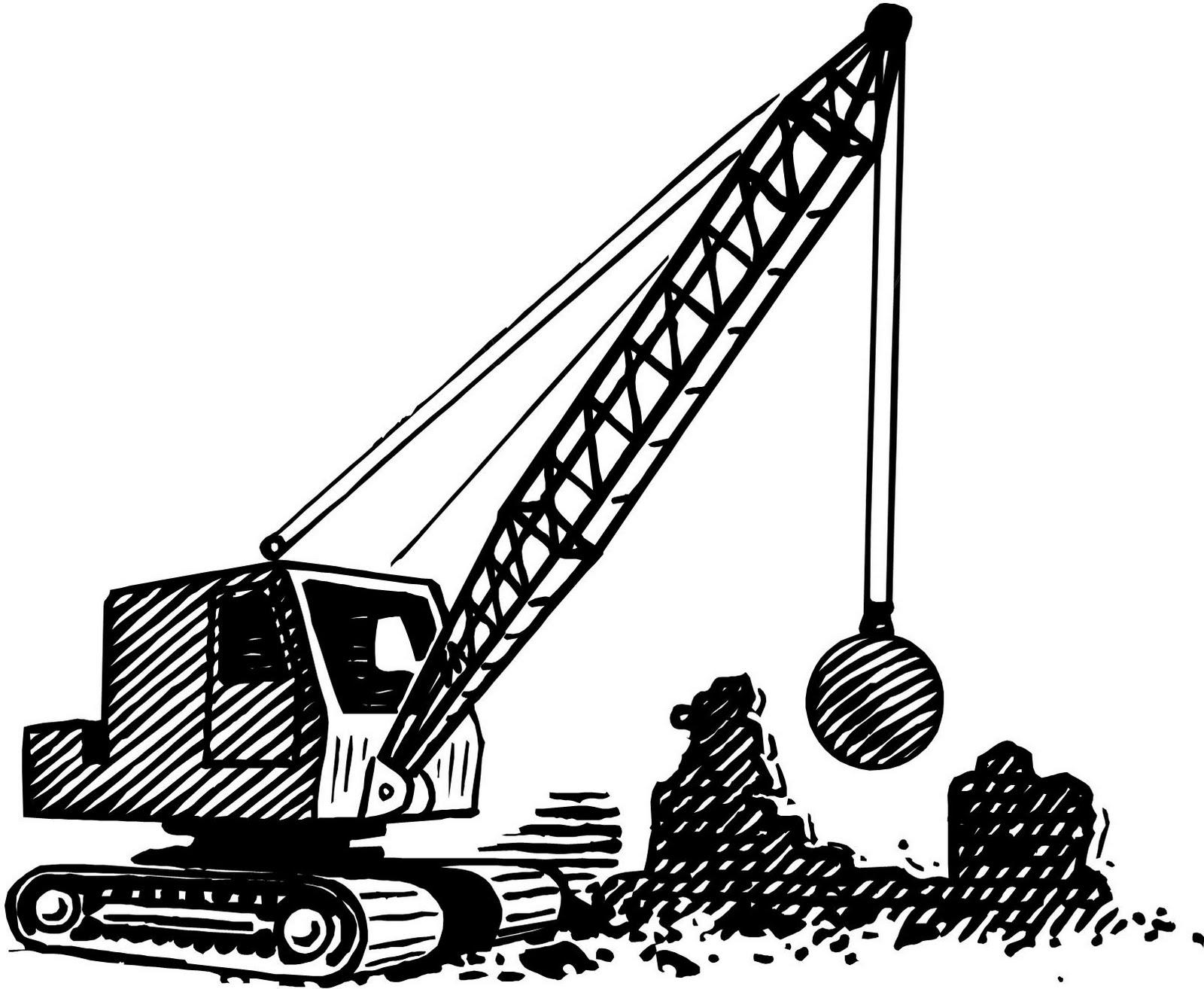 1600x1314 Crane Clipart Wrecking Ball
