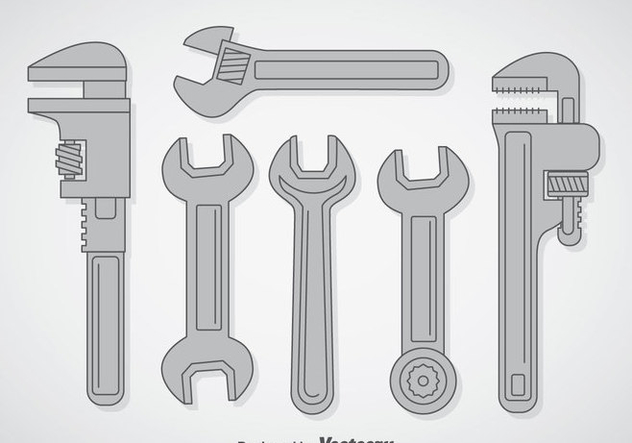 632x443 Wrench Vector Sets Free Vector Download 357059 Cannypic