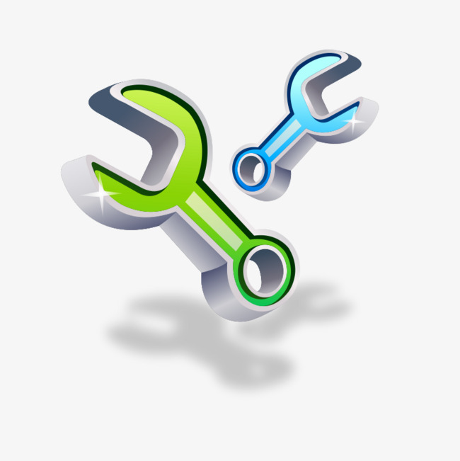 650x651 Wrench Tool Vector, Wrench Vector, Tool, Green Png And Vector For