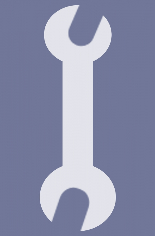 526x800 Wrench Vector Icon