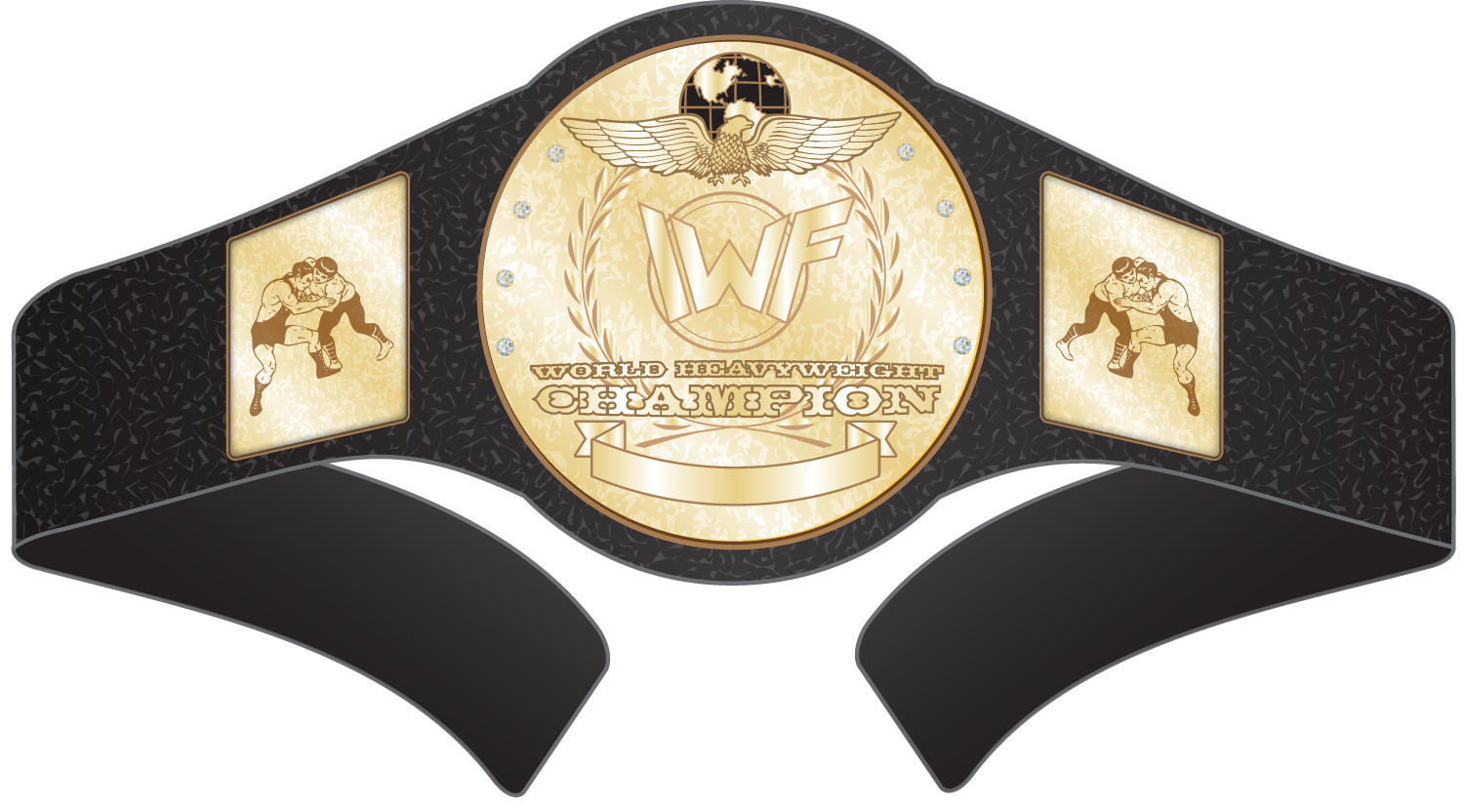 Wrestling Belt Vector