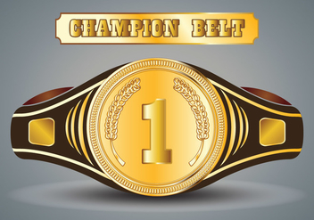 352x247 Championship Belt Vector Icon Sets Free Vector Download 421353