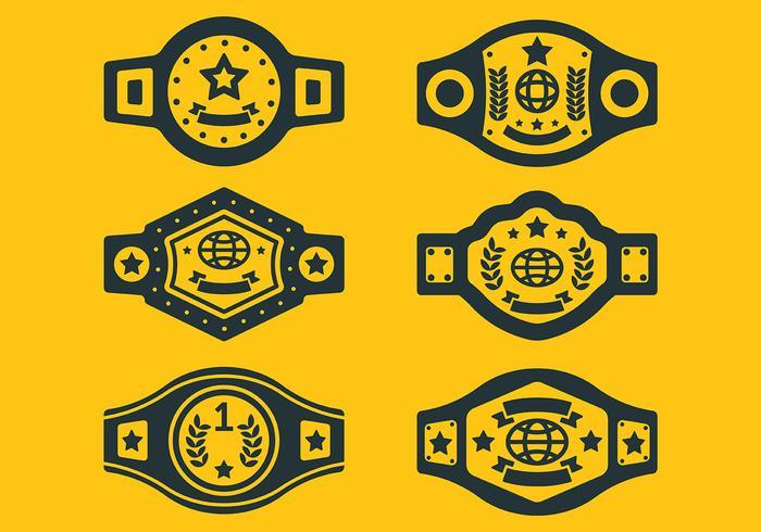 700x490 Free Championship Belt Icons Vector