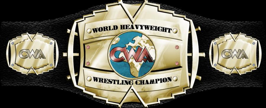 900x366 Cwa World Championship Belt By Theonlybezo