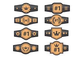 286x200 Champion Belt Free Vector Art