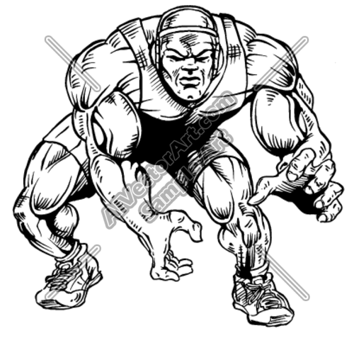 500x477 Wrst5 Clipart And Vectorart Sports