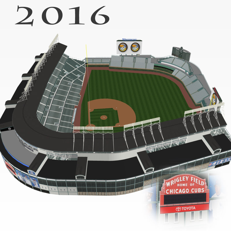 Wrigley Field Vector
