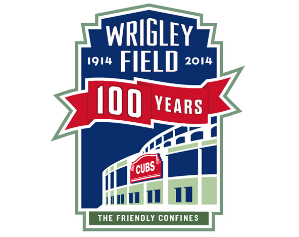 592x469 Wrigley Field 100 Year Logo Contest Chicago Cubs