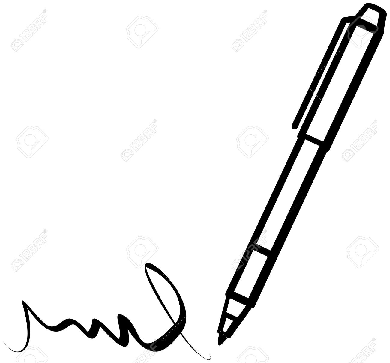 1300x1211 Pen Writing Vector Writings And Essays