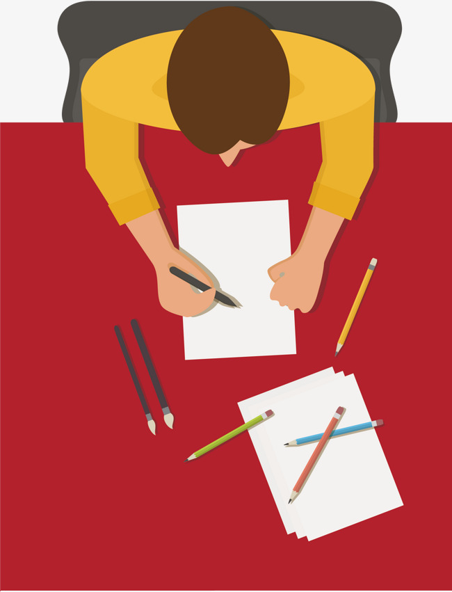 650x851 Writing Characters, Write, Cartoon, Bird Watching Png And Vector
