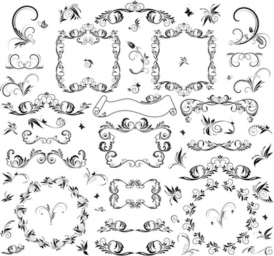 393x368 Wrought Iron Fence Vector Art Free Free Vector Download (215,419