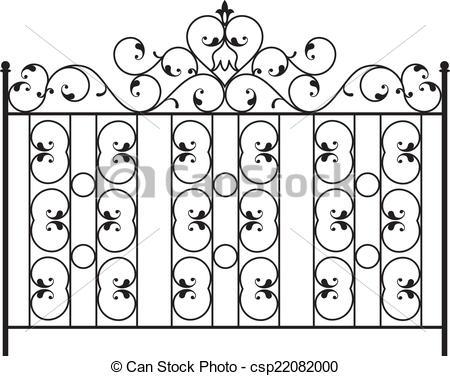 450x376 Wrought Iron Gate, Door, Fence, Window, Grill, Railing Design