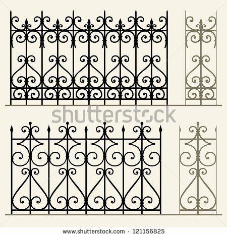 450x470 Wrought Iron Modular Railings And Fences