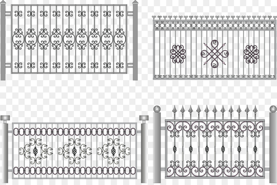900x600 Fence Wrought Iron Iron Railing