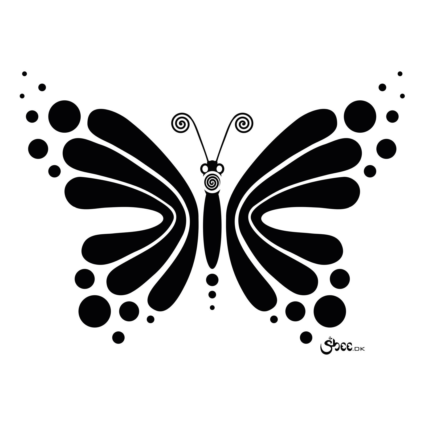 1800x1800 Sheeartworks Hypnotic Butterfly