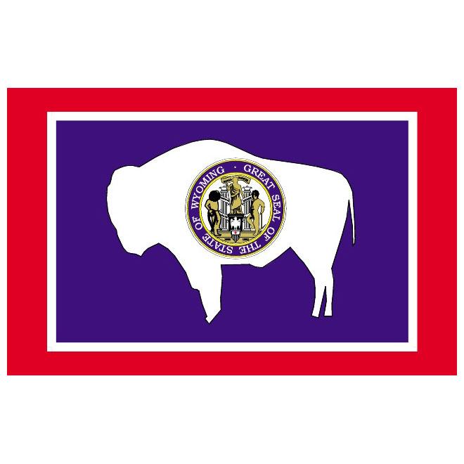 660x660 Wyoming Vector Flag