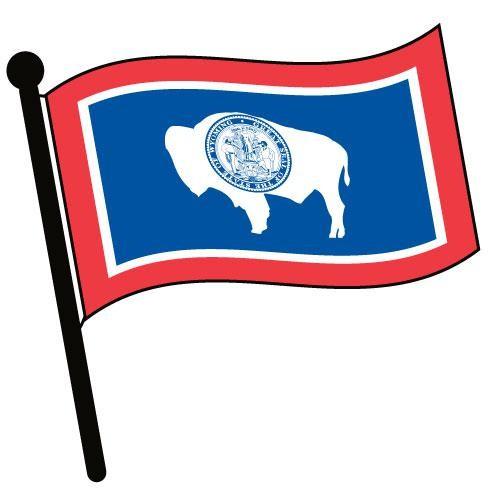 500x500 Wyoming Flag Vector 44443 Pixhd