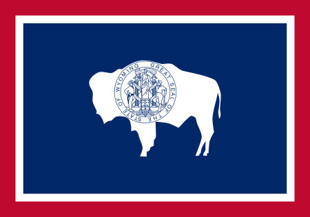 450x315 Free Wyoming Flag Images Ai, Eps, Gif, Jpg, Pdf, Png, And Svg