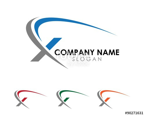 500x400 X Swoosh Logo 1 Stock Image And Royalty Free Vector Files On