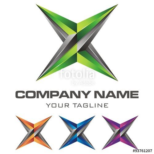 500x500 Letter X Logo