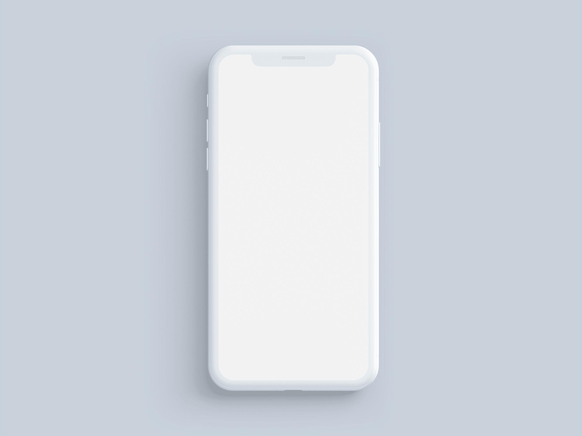 2000x1500 Simple Customizable Iphone X Mockups The Mockup Club