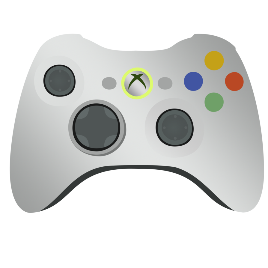 894x894 Xbox 360 Controller Vector By Ikillyou121