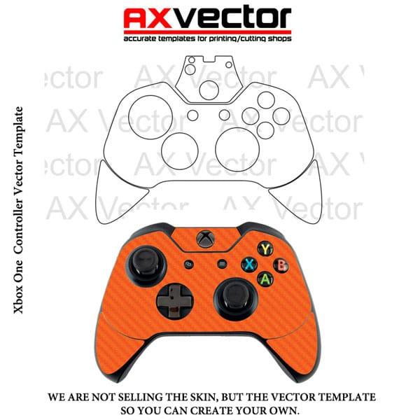 600x600 Xbox One Controller Vector Template