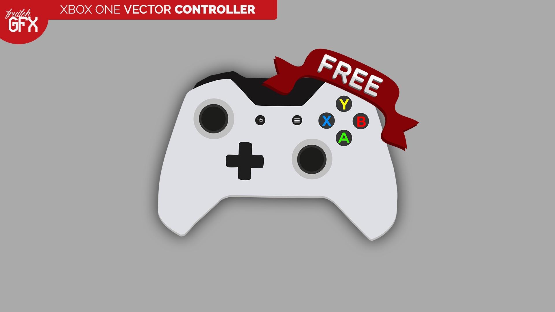 1920x1080 Xbox One 2d Vector Controller