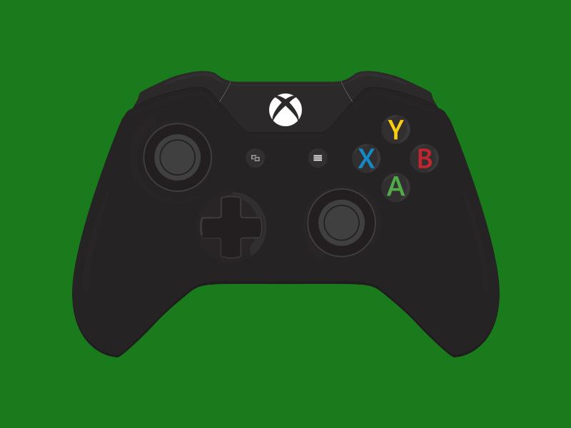 800x600 Xbox One Controller By Luke Zammit