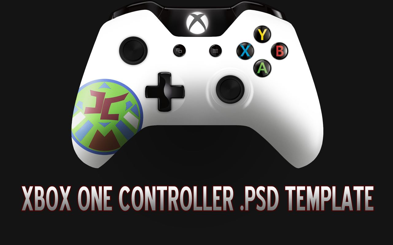 1280x799 Group Of Xbox One Controller Template