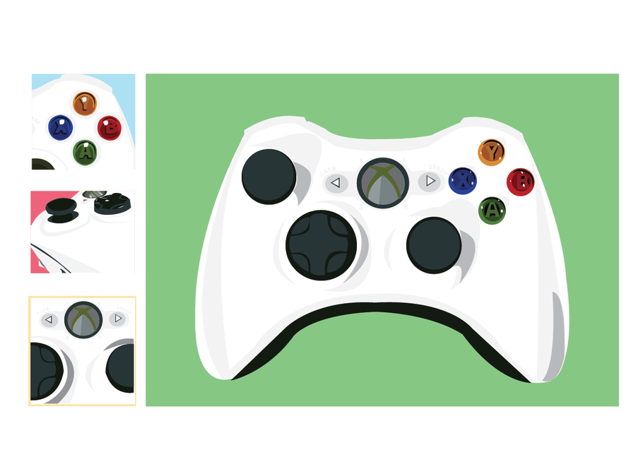 900x637 Images Of Xbox One Controller Vector