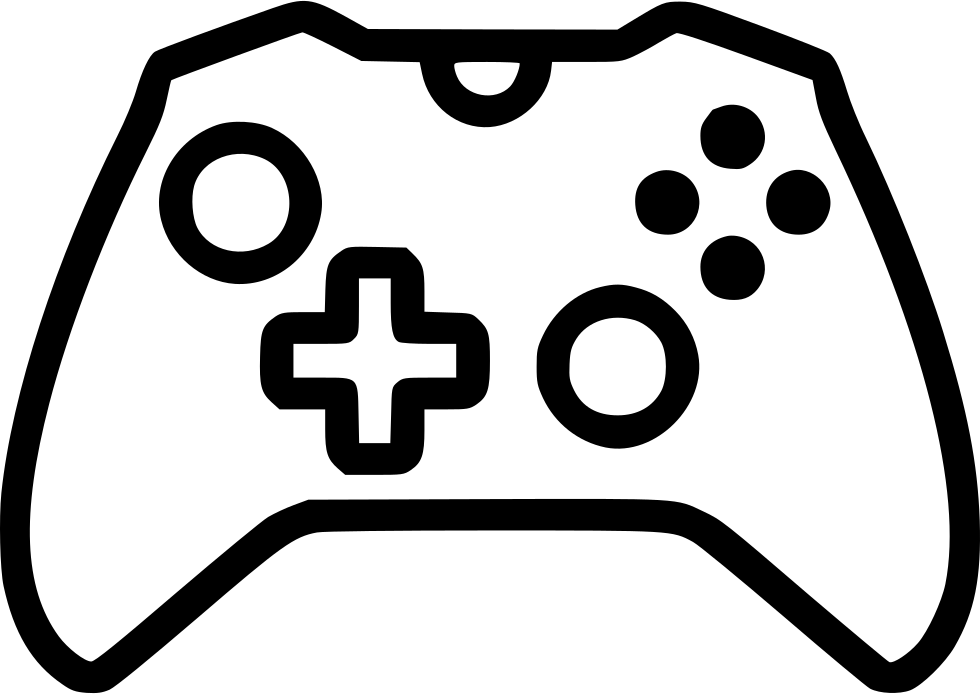 980x694 Collection Of Free Controller Vector Svg. Download On Ubisafe