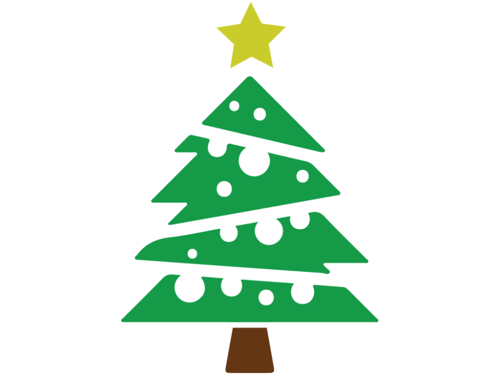 1000x750 Christmas Tree Clip Art