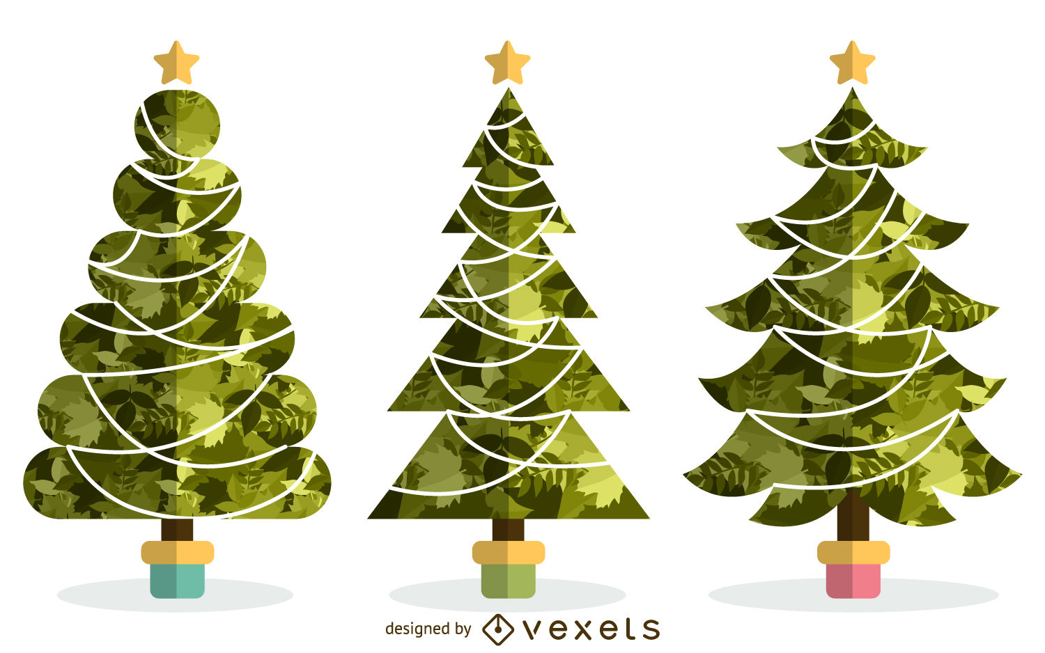 1500x938 Christmas Tree Vector Graphics To Download