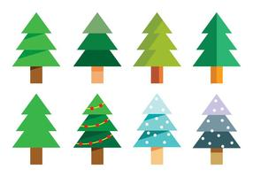 286x200 Abstract Christmas Tree Free Vector Art