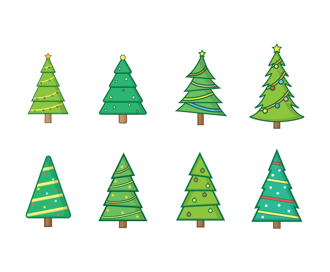 1136x936 Free Christmas Tree Vectors Vector Art Amp Graphics