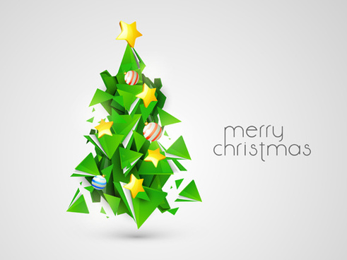 491x368 Xmas Tree Vector Free Vector Download (6,330 Free Vector) For