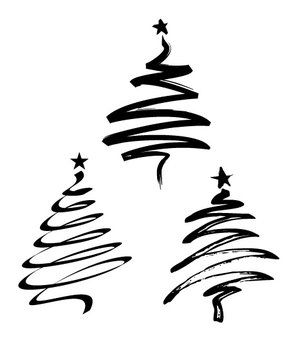 300x361 Free Christmas Tree Vectors Christmas Ideas