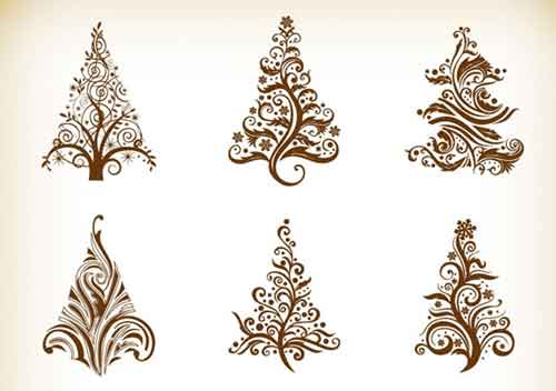 500x352 Christmas Tree Clip Art 30 Sets Of Free Vector Graphics