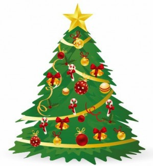 299x324 Christmas Tree Vector Illustration 3 Vector Free Download