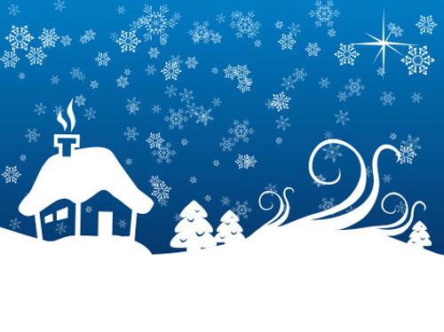 500x374 Amazing Packs Of Free And Premium Christmas Vector Graphics