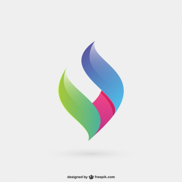 626x626 Abstract And Colorful Logo Vector Free Download
