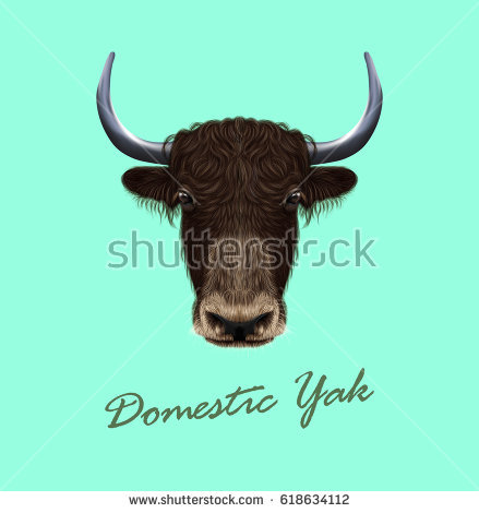 439x470 Collection Of Free Bovid Clipart Yak Head. Download On Ubisafe