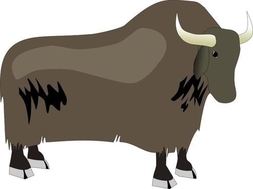 493x368 Yak Vector Free Vector Download (11 Free Vector) For Commercial