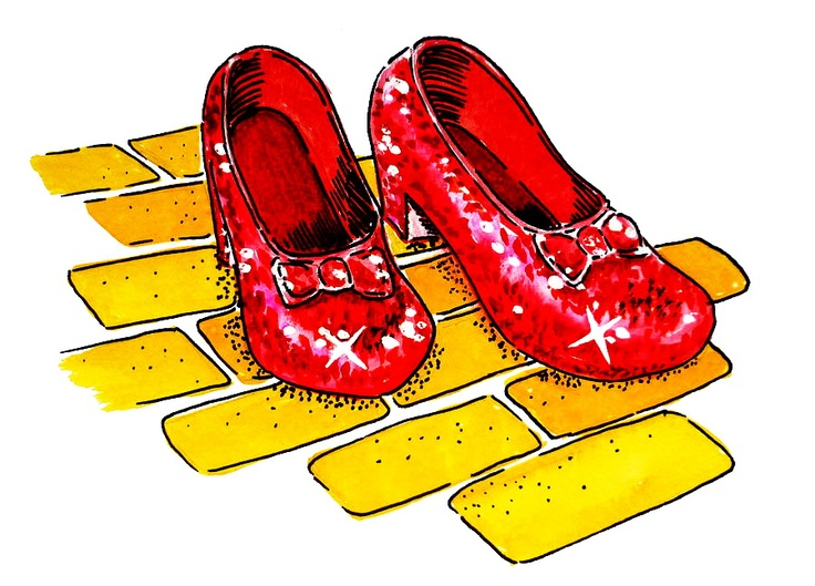 736x529 Yellow Brick Road Free Clipart