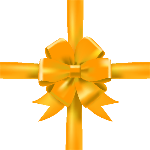 600x600 Collection Of Free Bow Vector Yellow. Download On Ubisafe