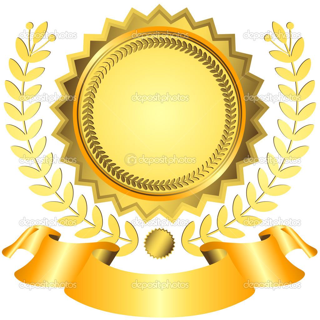 1024x1024 Prize Ribbon Yellow Clipart