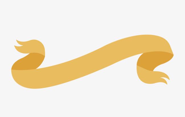 650x411 Yellow Ribbon Copy Background, Ribbon Vector, Coloured Ribbon